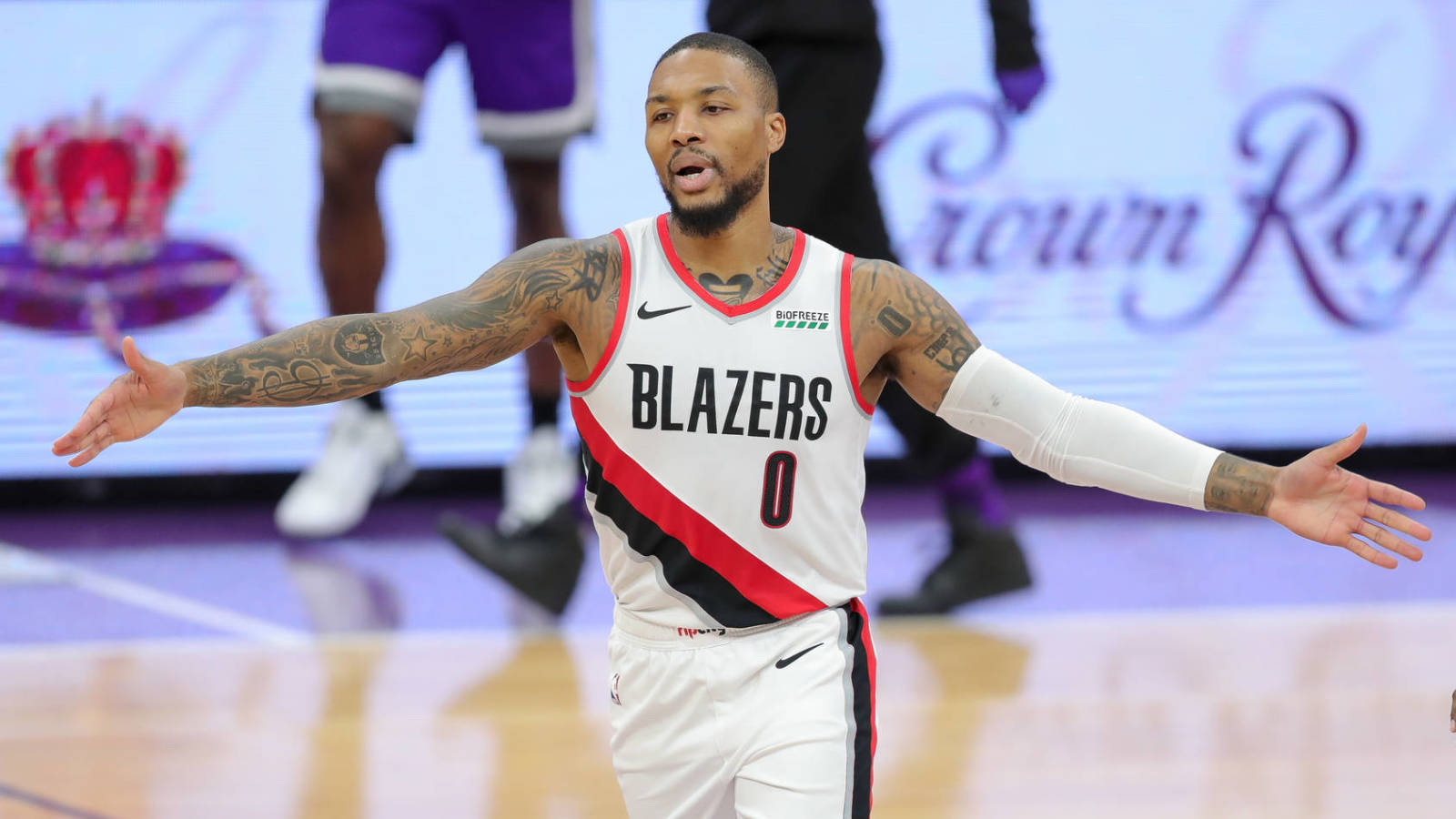 Damian Lillard called out reporter for ranking of Wizards guards