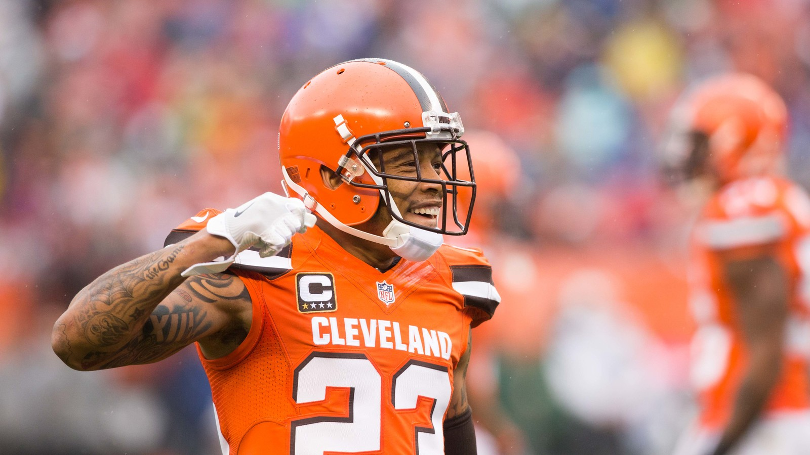 Eagles 'Very Much' In Mix For Joe Haden