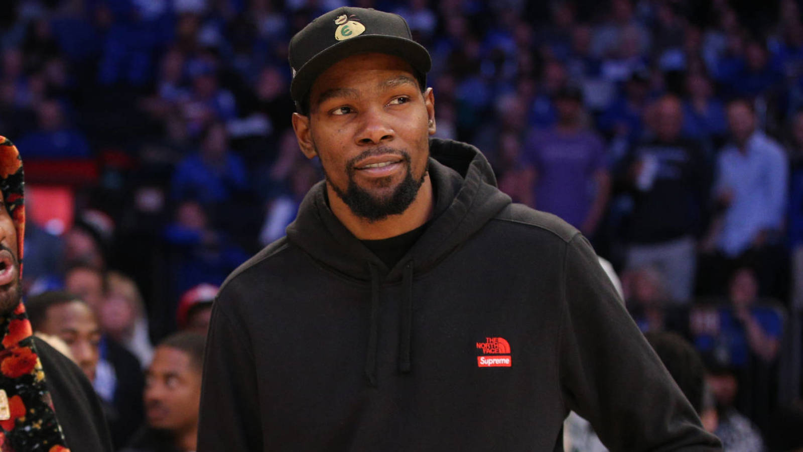 Kevin Durant addresses report about recruiting James Harden...