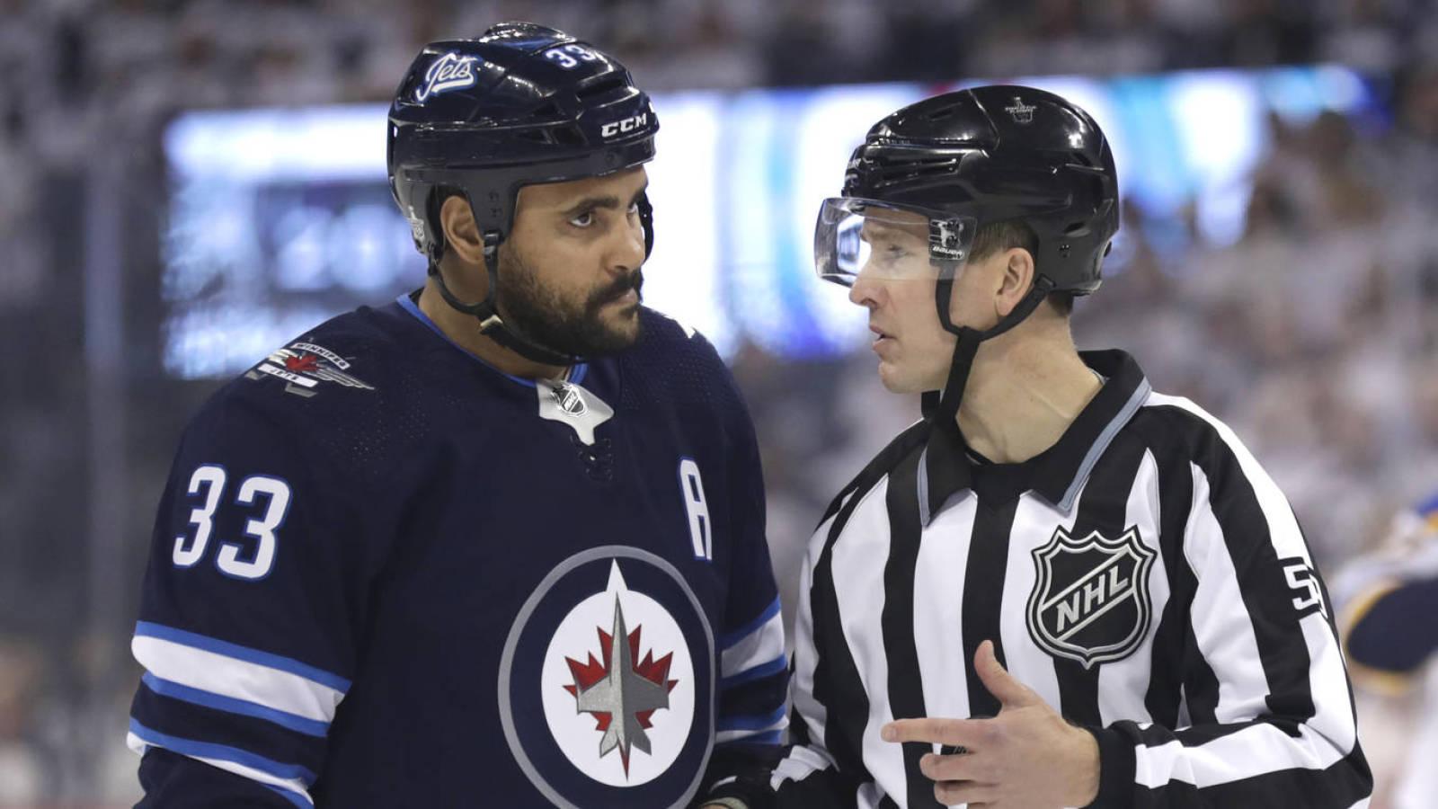 Conflict Between Dustin Byfuglien Winnipeg Jets Nearing Resolution Yardbarker