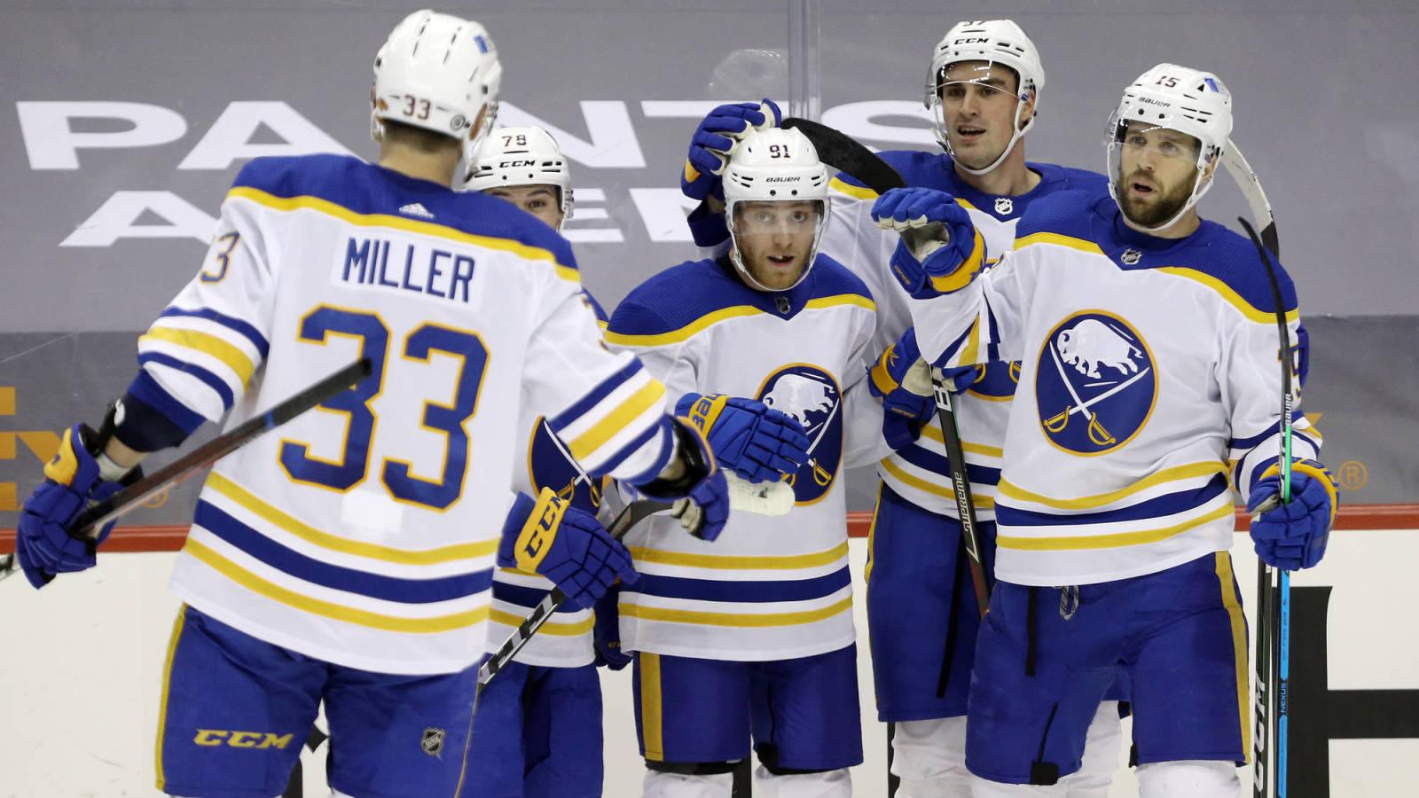 Buffalo Sabers wins the 2021 NHL Draft Lottery