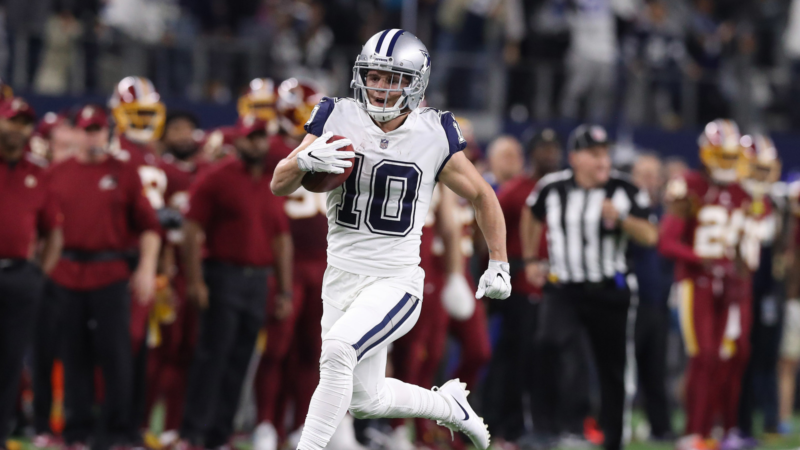 watch ryan switzer scores for cowboys on 83 yard punt return yardbarker com