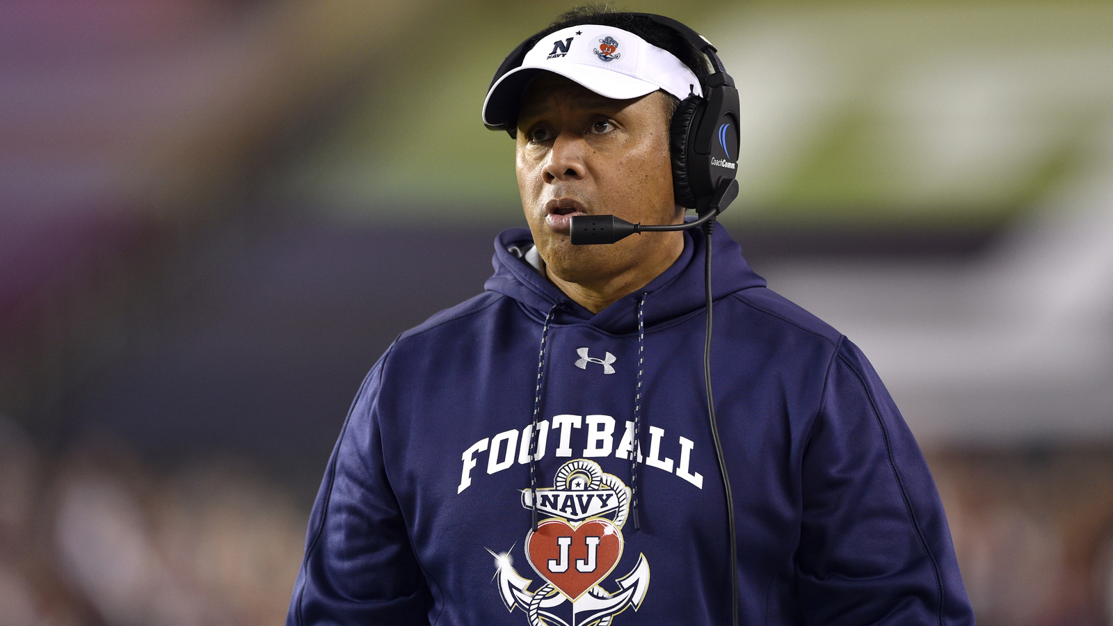 Navy head coach Ken Niumatalolo reportedly in running for Arizona job