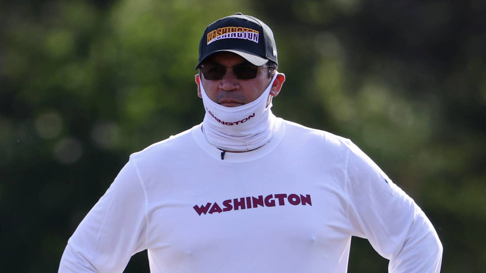 Washington shares awesome video from Ron Rivera's final cancer treatment