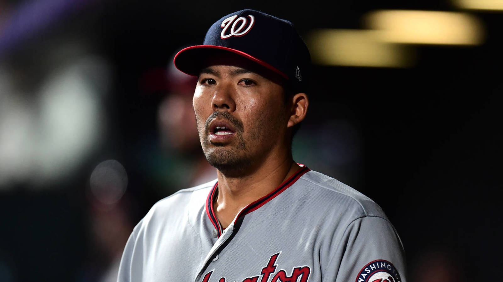 b916fb64a Nationals' Kurt Suzuki injured, forced to exit game after taking ...