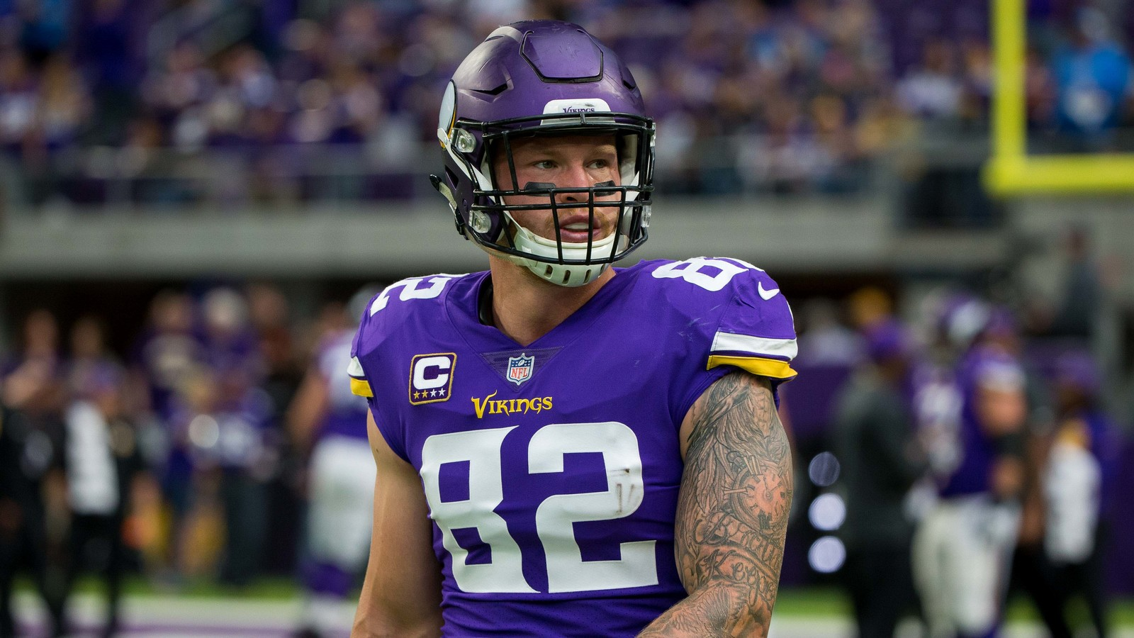 Kyle Rudolph might actually suit up for the Vikings on Sunday