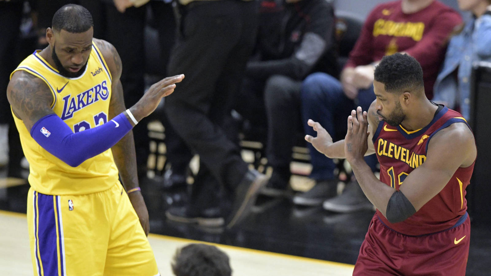 Tristan Thompson says LeBron James has the 'worst f—ing diet ever'