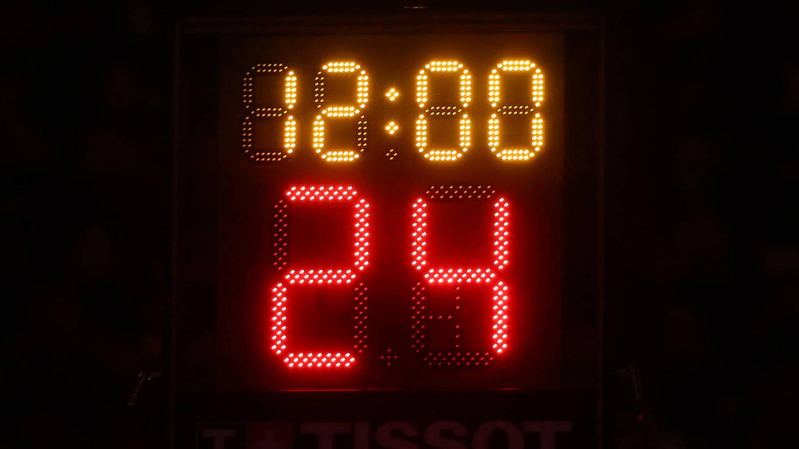 How Long Is The Nba Shot Clock Yardbarker