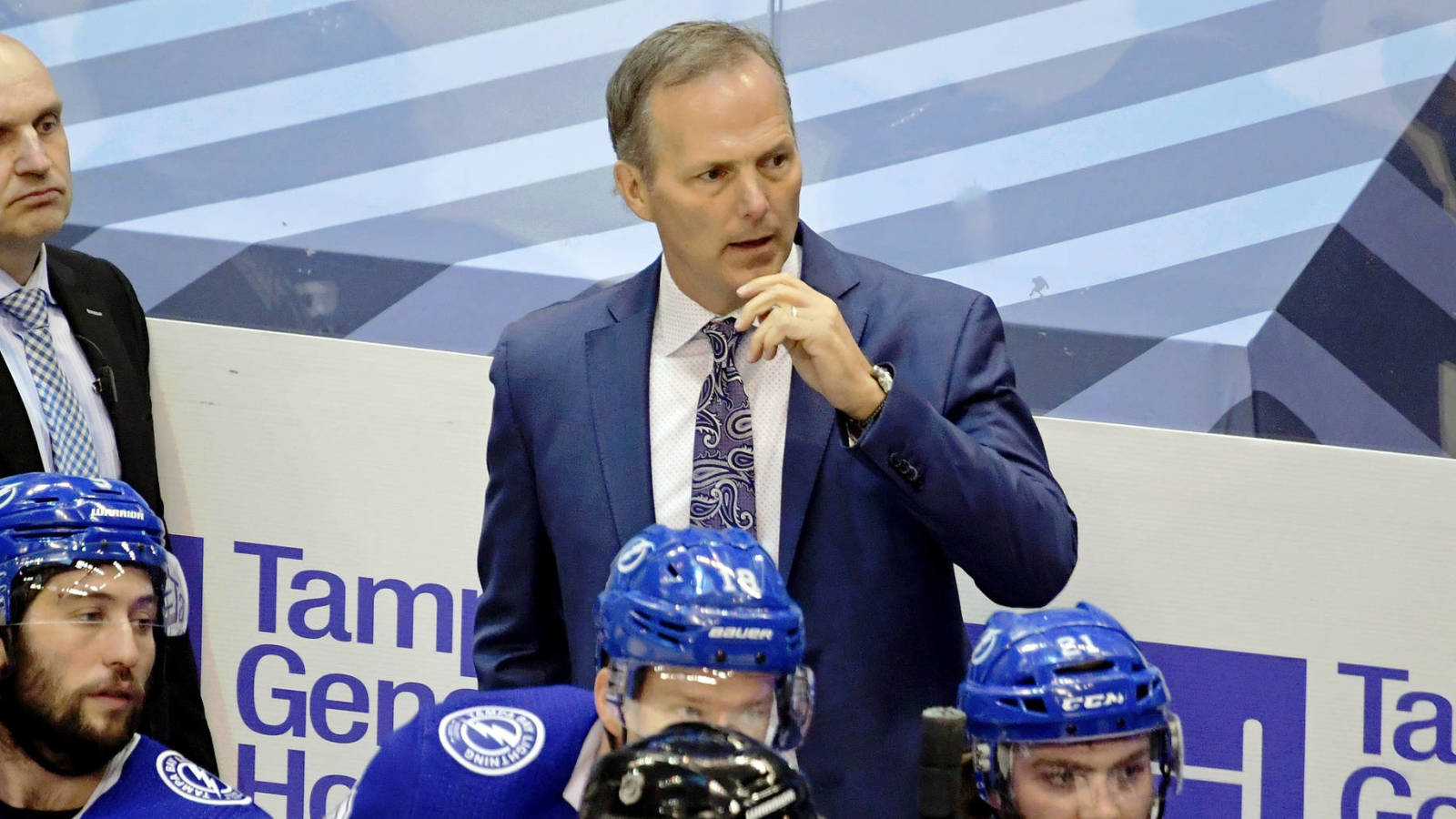 Lightning HC Jon Cooper Named Head Coach of Team Canada