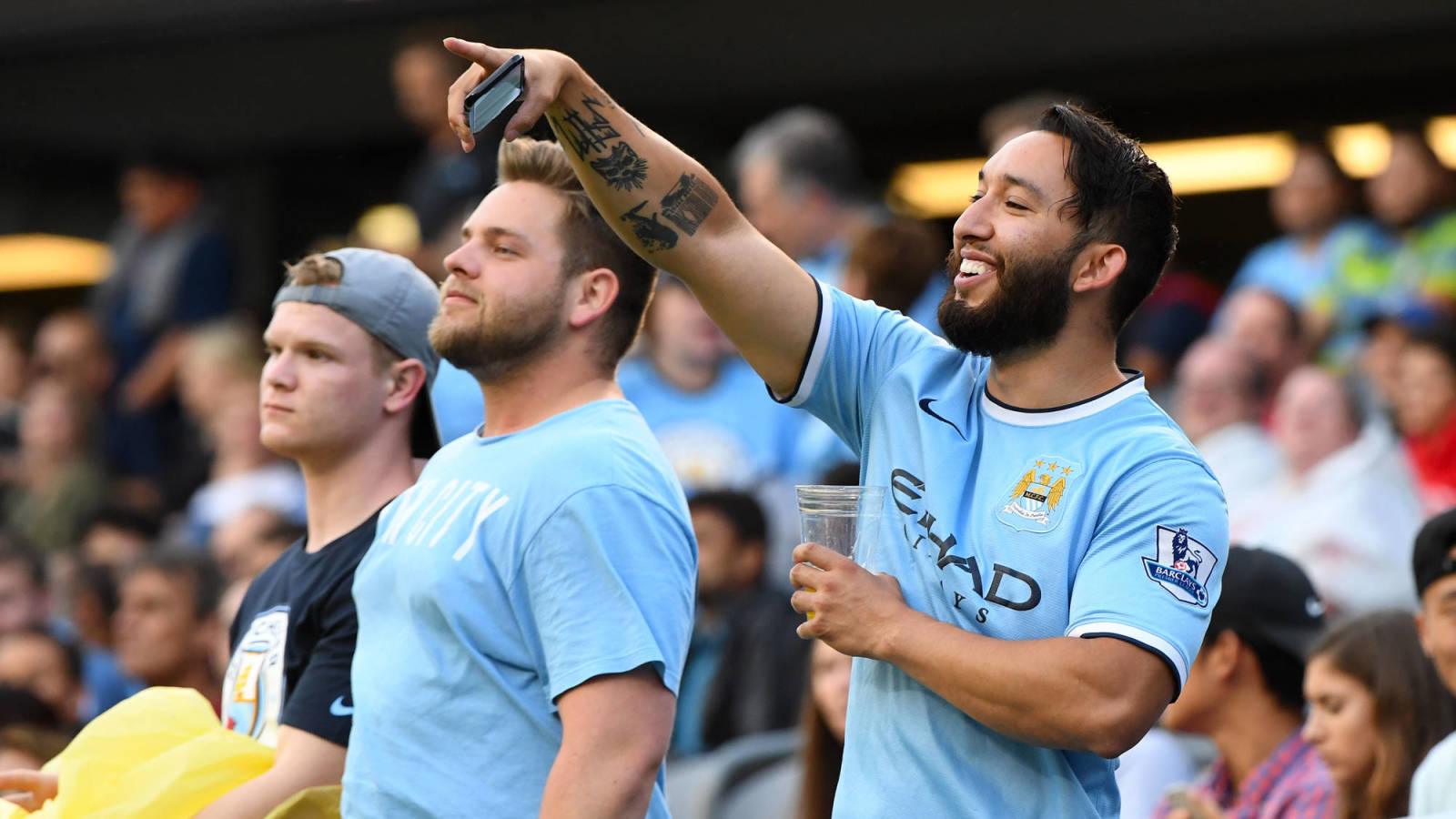 Sports world reacts to Manchester City being banned from Champions League for two years