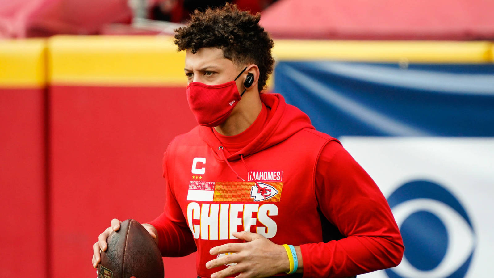 Report: Chiefs QB Patrick Mahomes not 100%, suffering from turf toe