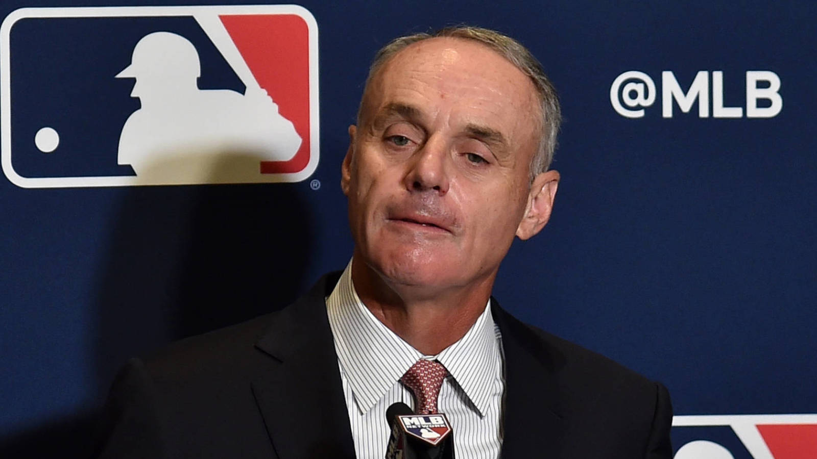 Rob Manfred said MLB could shut down due to coronavirus outbreaks ...