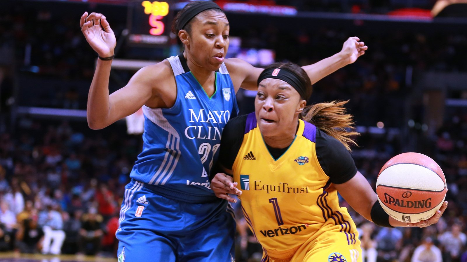 Alana Beard of LA Sparks wins WNBA Defensive Player of Year