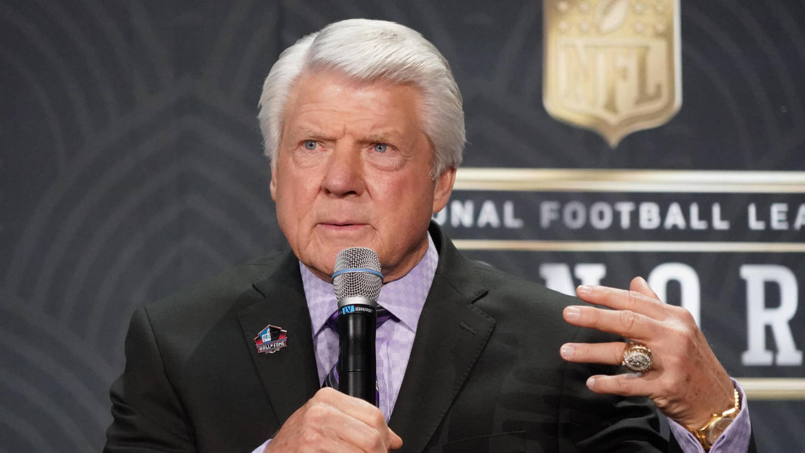 Jimmy Johnson inducted into the Cowboys Ring of Honor