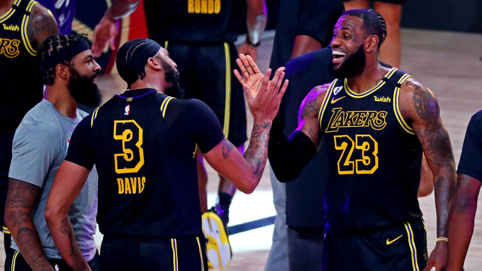 Nba Finals Preview Lakers Vs Heat Game 1 Yardbarker