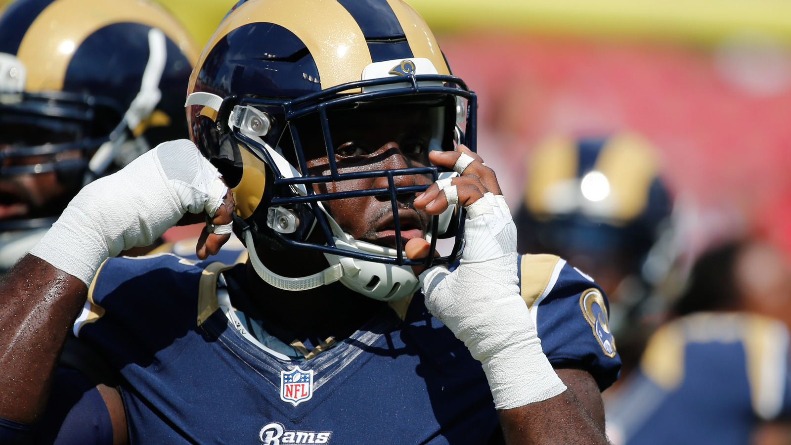 Rams defensive end William Hayes reportedly has been traded to the Dolphins.  Kim Klement-USA TODAY Sports bb54ade4e