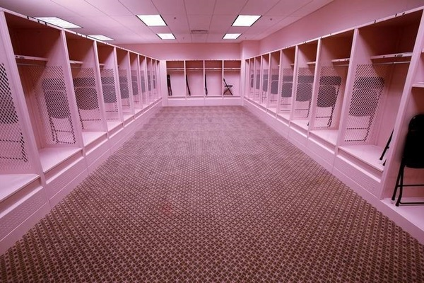Washington Capitals Locker Room