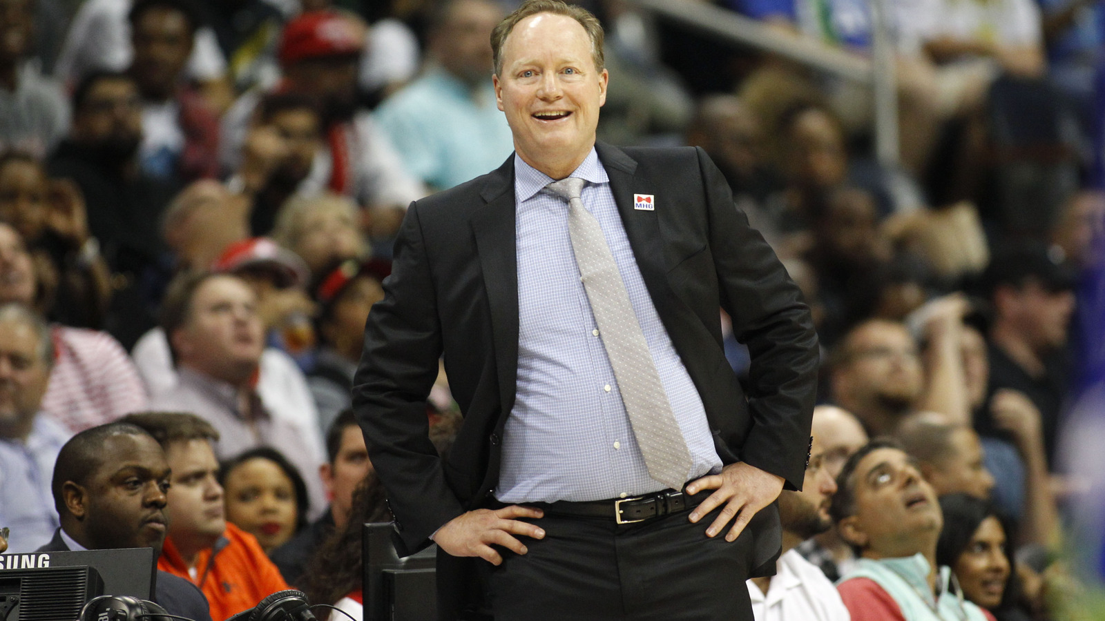 NBA Referee Hotline Bling Coach Budenholzer updates his contacts
