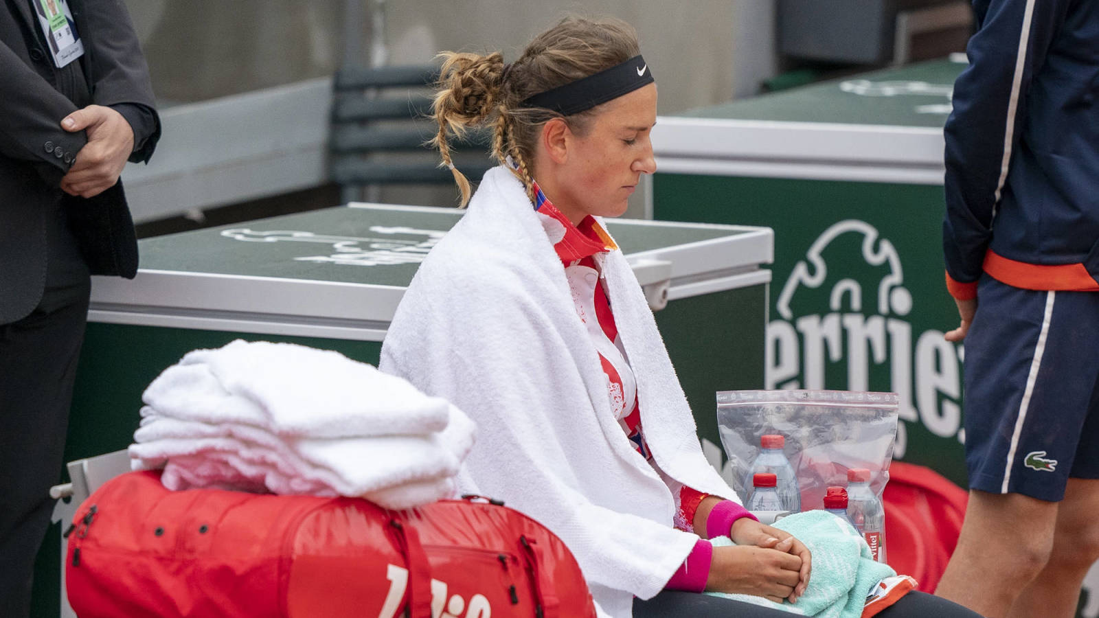 Victoria Azarenka suffers upset loss in second round of French Open