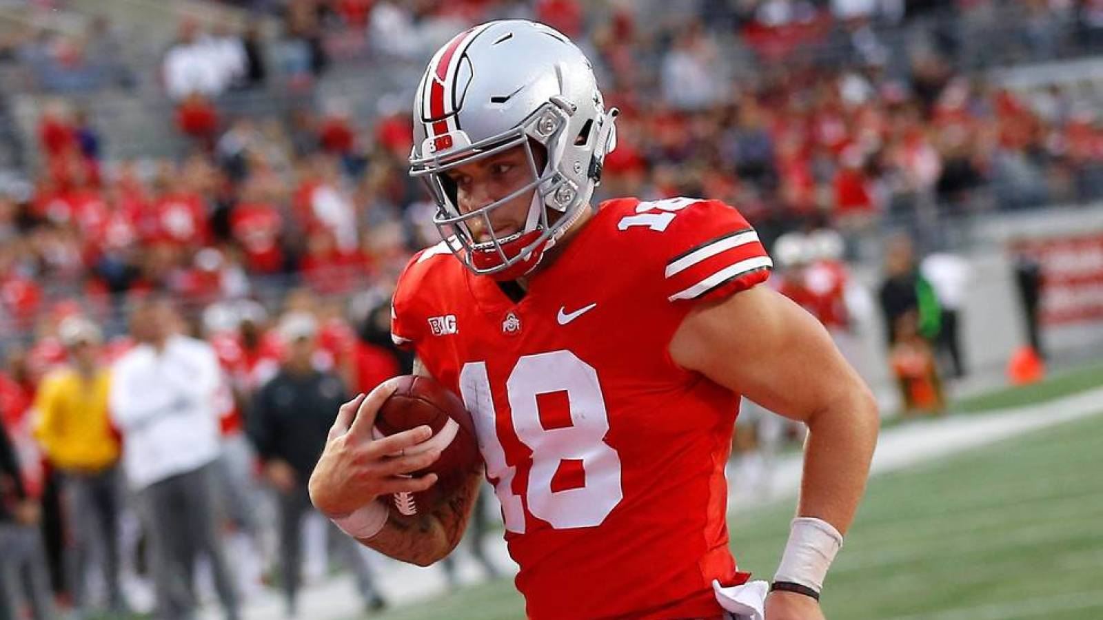 Tate Martell Says He Wont Leave Ohio State For Justin