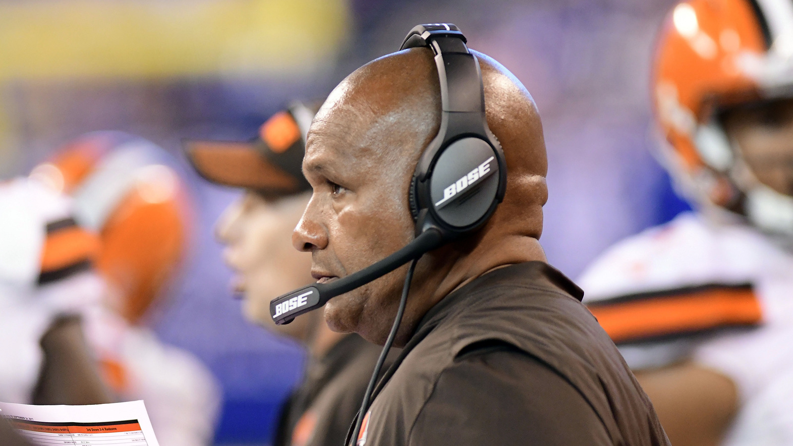 Hue Jackson cautions Browns not to take bait with Vontaze ...