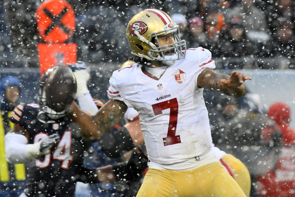 Colin Kaepernick will start for the 49ers against the Jets