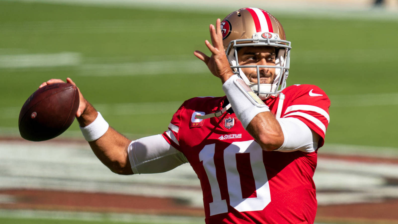 Jimmy Garoppolo: Ankle is 'feeling great' | Yardbarker