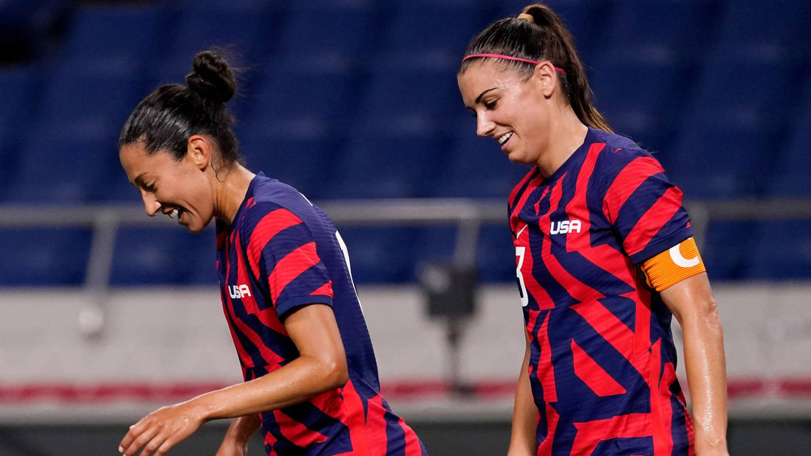 USWNT's Alex Morgan: Tournament starts at 'knockout stage'