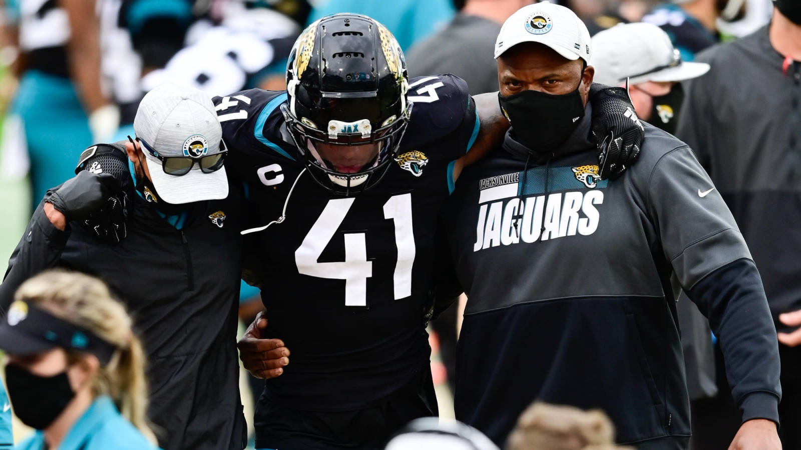 Jaguars De Josh Allen To Miss Some Time Yardbarker