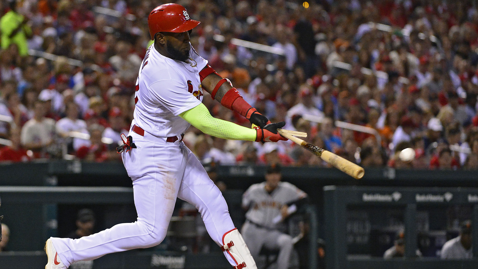 Marcell Ozuna playing more efficiently since shoulder recovery