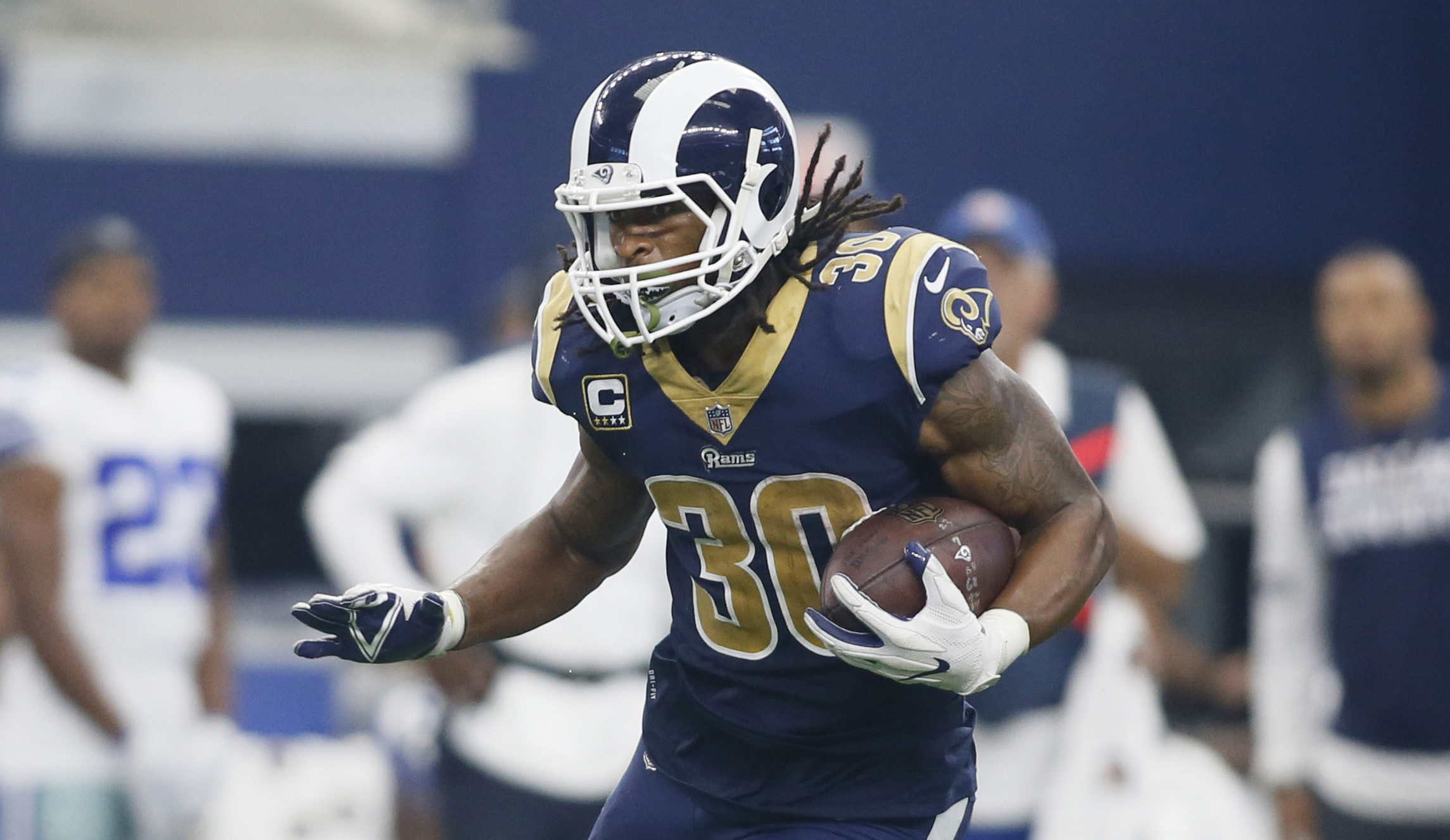 After four weeks of the NFL season Todd Gurley is clearly the