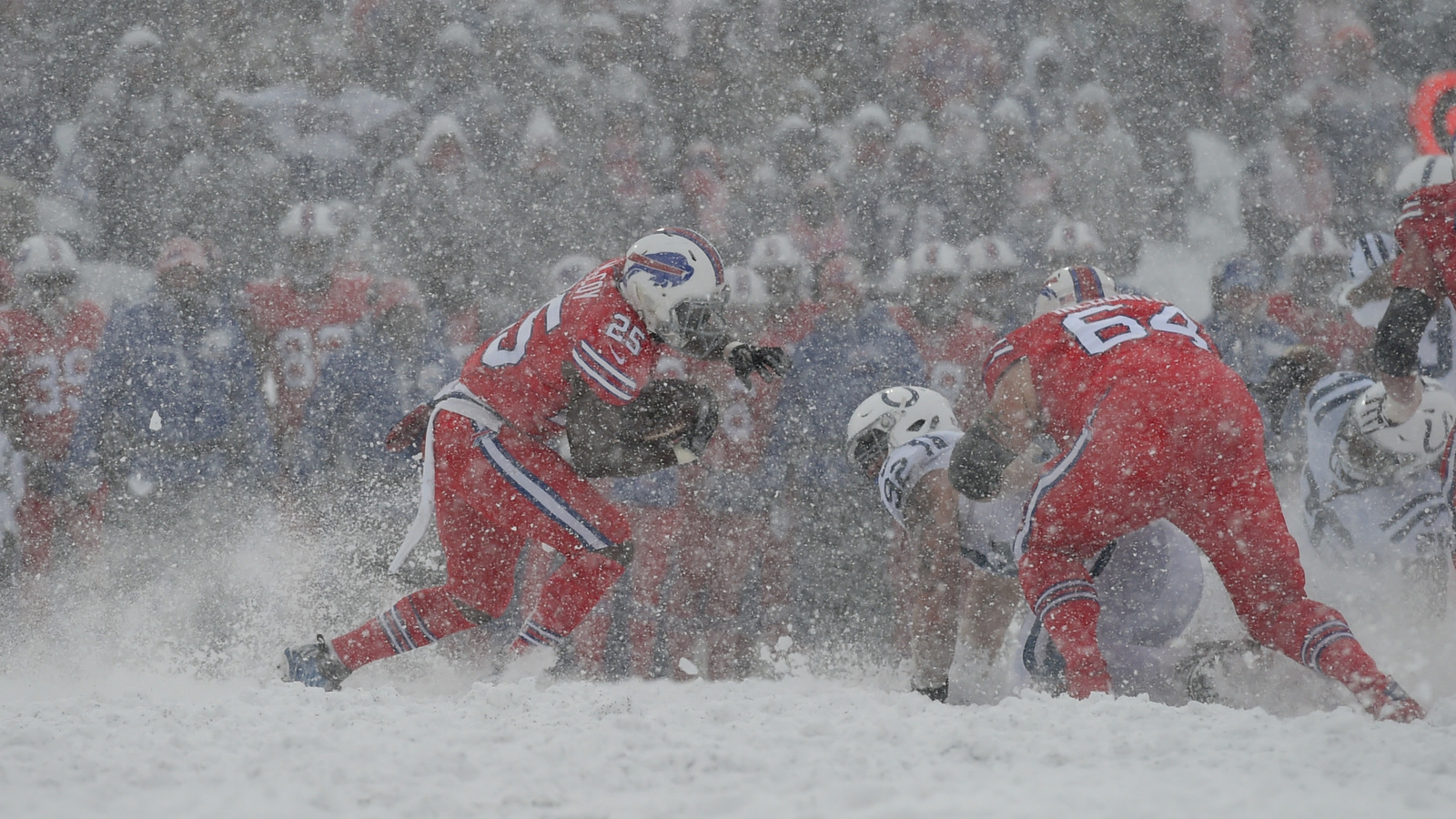 Twitter Reacts To Snow Filled Colts Bills Game Yardbarker