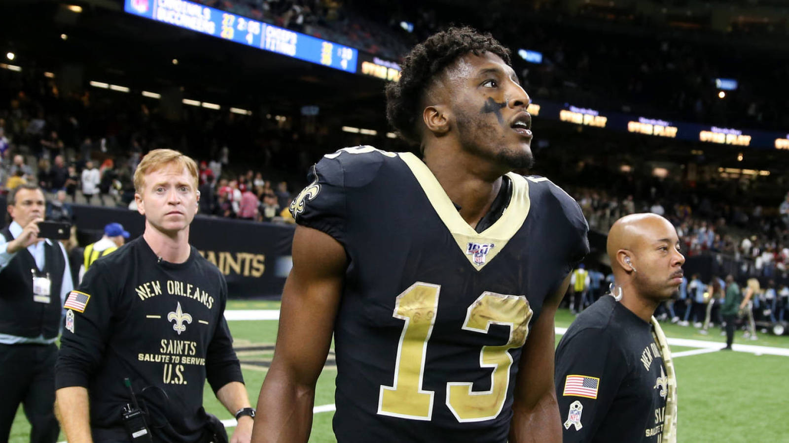Michael Thomas looking to force a trade from Saints?