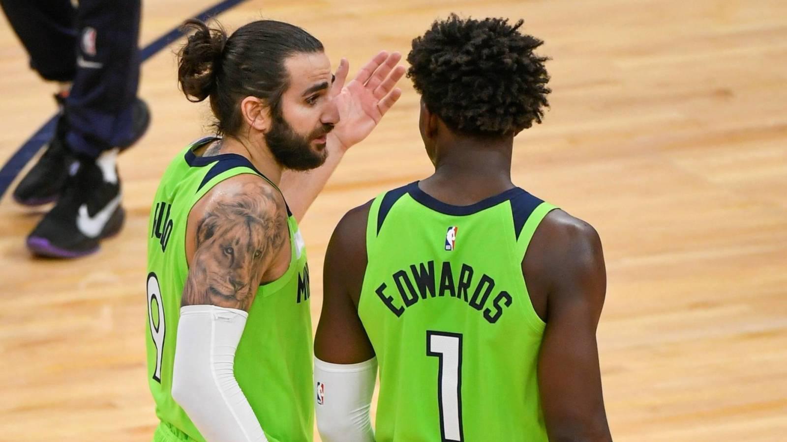 Ricky Rubio concerned Wolves may squander Anthony Edwards' development? | Yardbarker