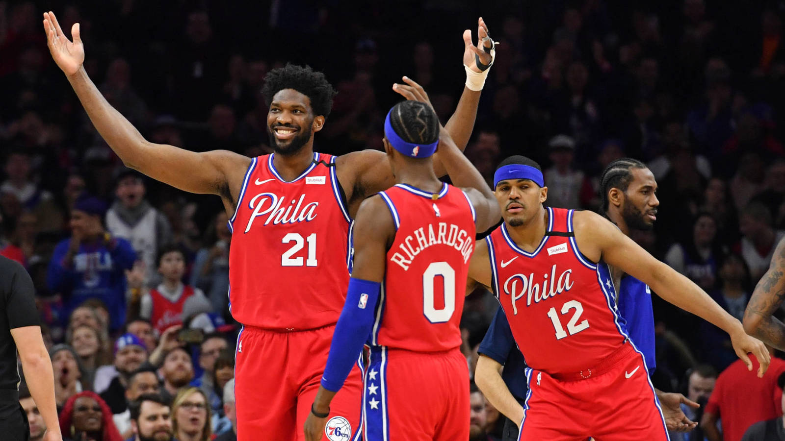 Joel Embiid 'cool' with 76ers fans booing him: 'It's all love'