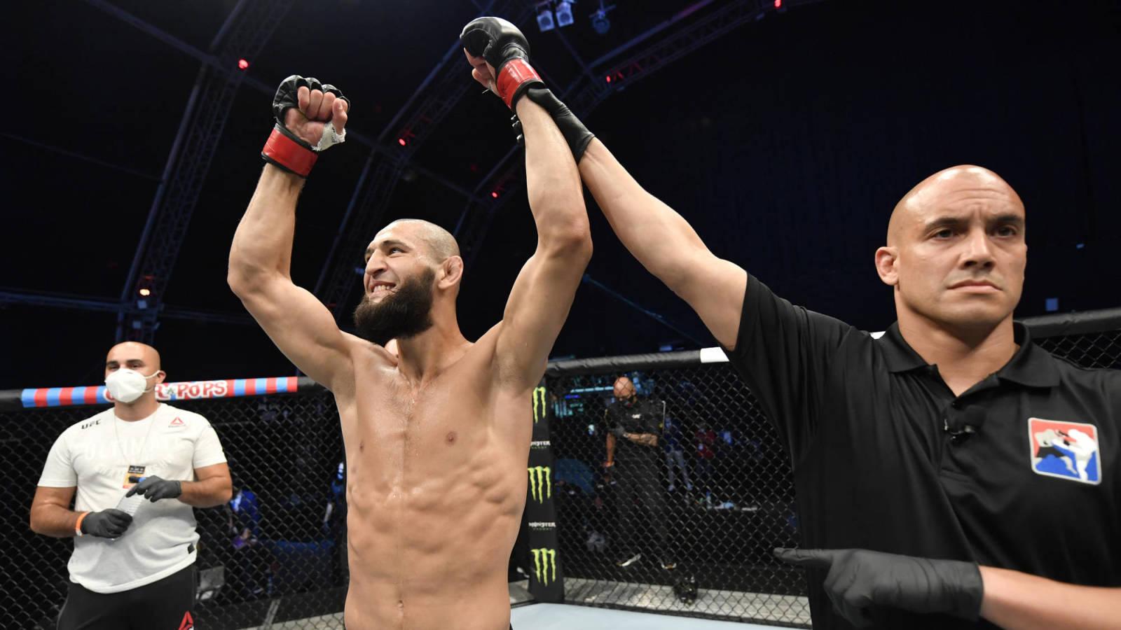 Khamzat Chimaev withdraws from fight vs. Leon Edwards? | Yardbarker