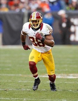 Dec 16, 2012; Cleveland, OH, USA; Washington Redskins wide receiver Pierre Garcon (88) against the Cleveland Browns at Cleveland Browns Stadium. The Redskins won 38-21. Mandatory Credit: Ron Schwane-USA TODAY Sports...