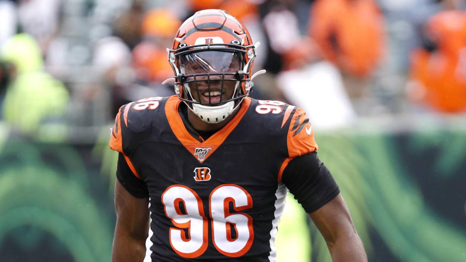 Carlos Dunlap posts Bengals' edge rotations on social media ...