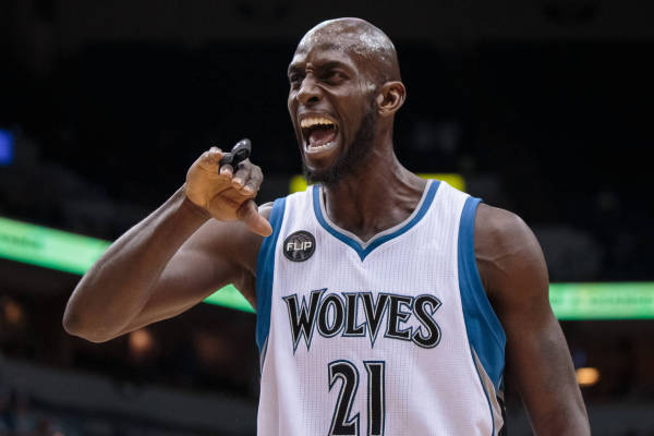 Kevin Garnett is my spirit animal... and Naismith Hall of Fame material