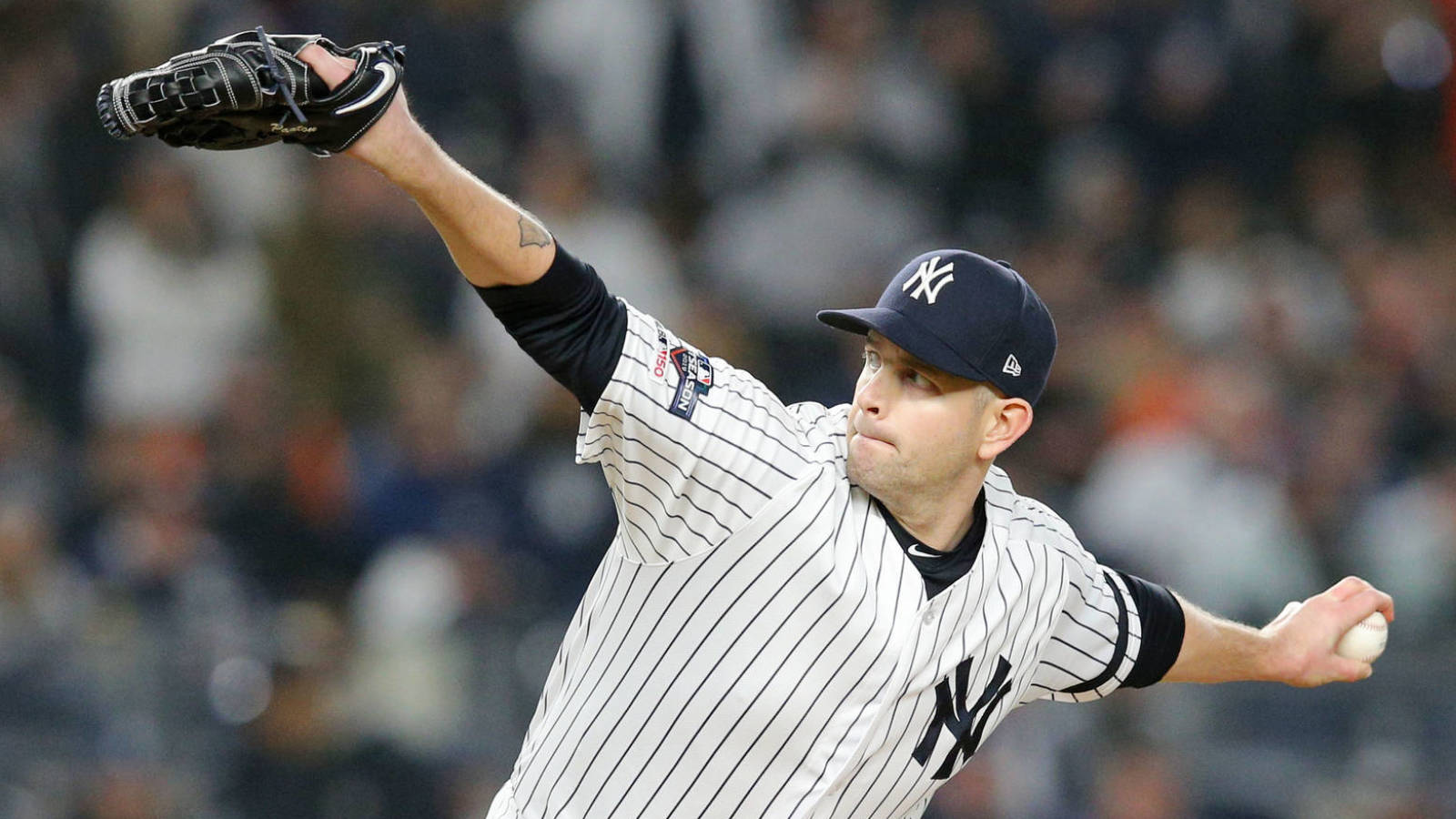 Yankees' James Paxton at 'full strength' after back surgery
