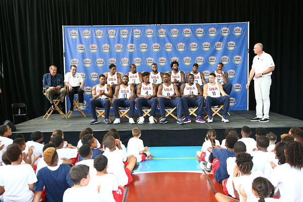 USA Basketball Unveils It's Official 2016 Olympic Roster