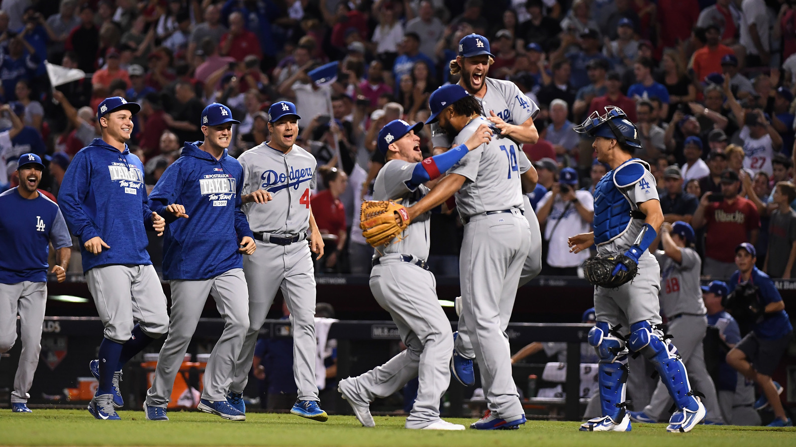 NLDS: Los Angeles Dodgers sweep away Arizona Diamondbacks, advance to NLCS