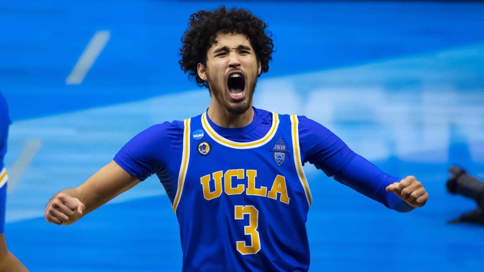 Watch: UCLA's Johnny Juzang got huge family surprise ahead of Final Four |  Yardbarker