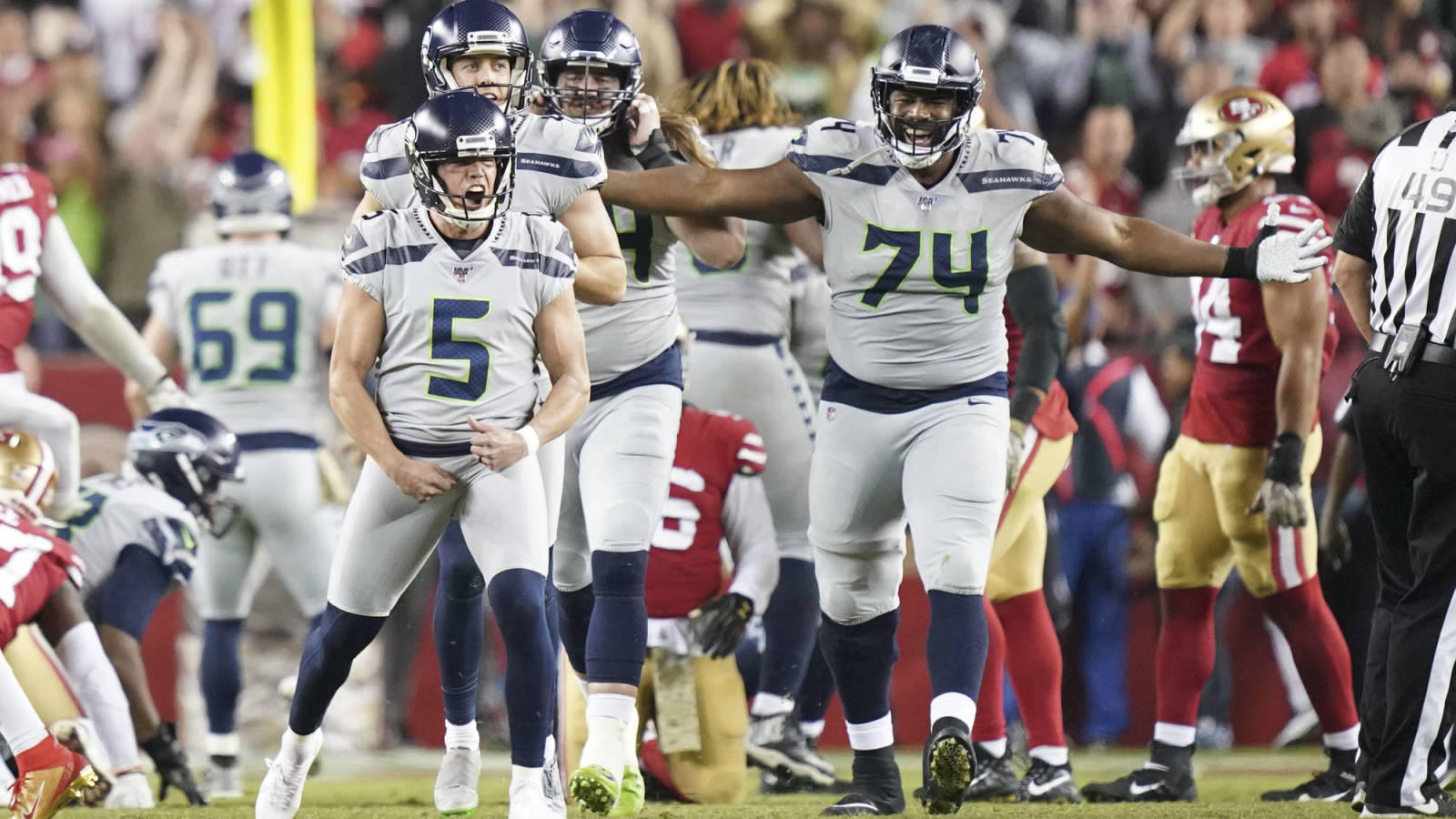Winners, losers from Seahawks' wild overtime win over 49ers on 'Monday Night Football'