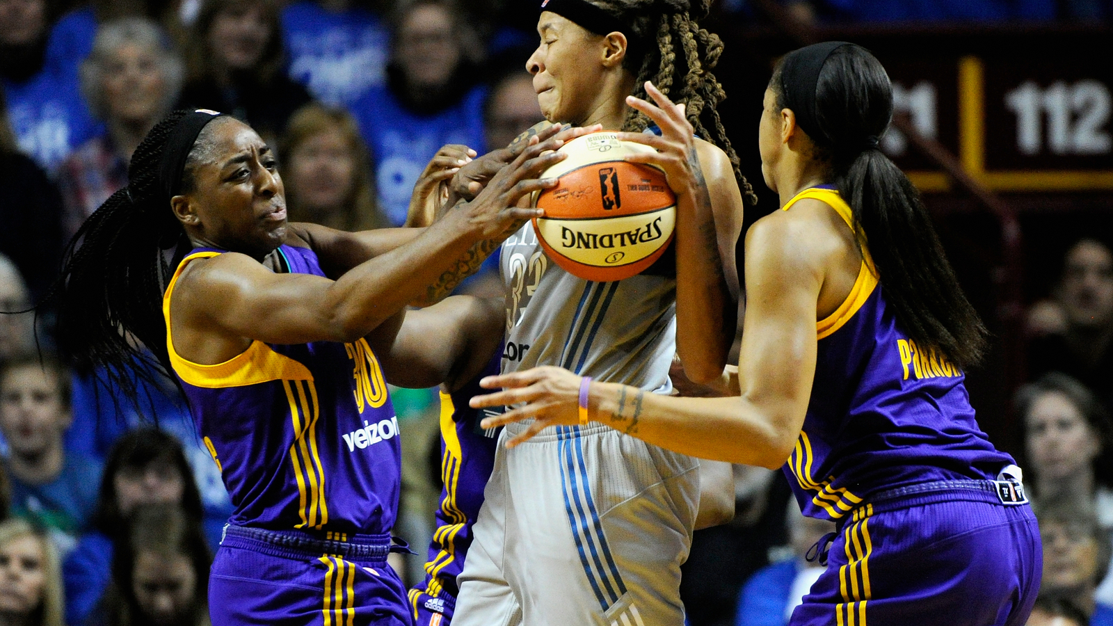Perkins playing in WNBA Finals