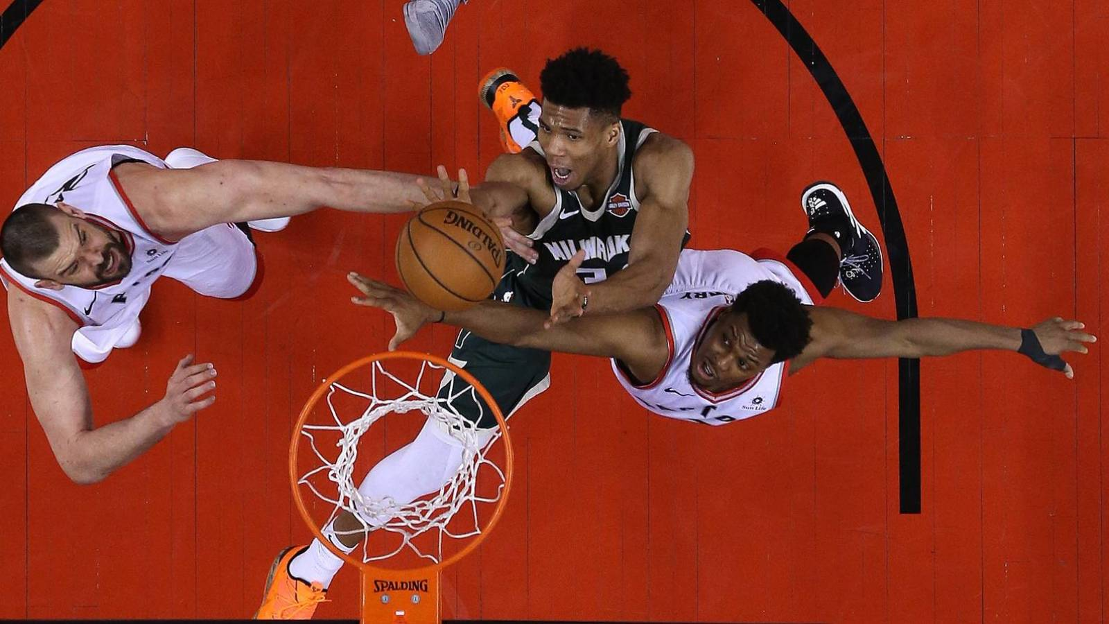 Don't sleep on Raptors, the Bucks' worst nightmare