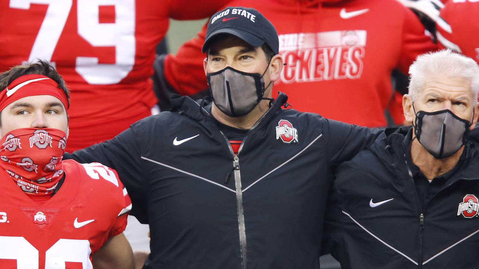 Ryan Day tests positive for COVID-19, Larry Johnson to coach Ohio State Saturday