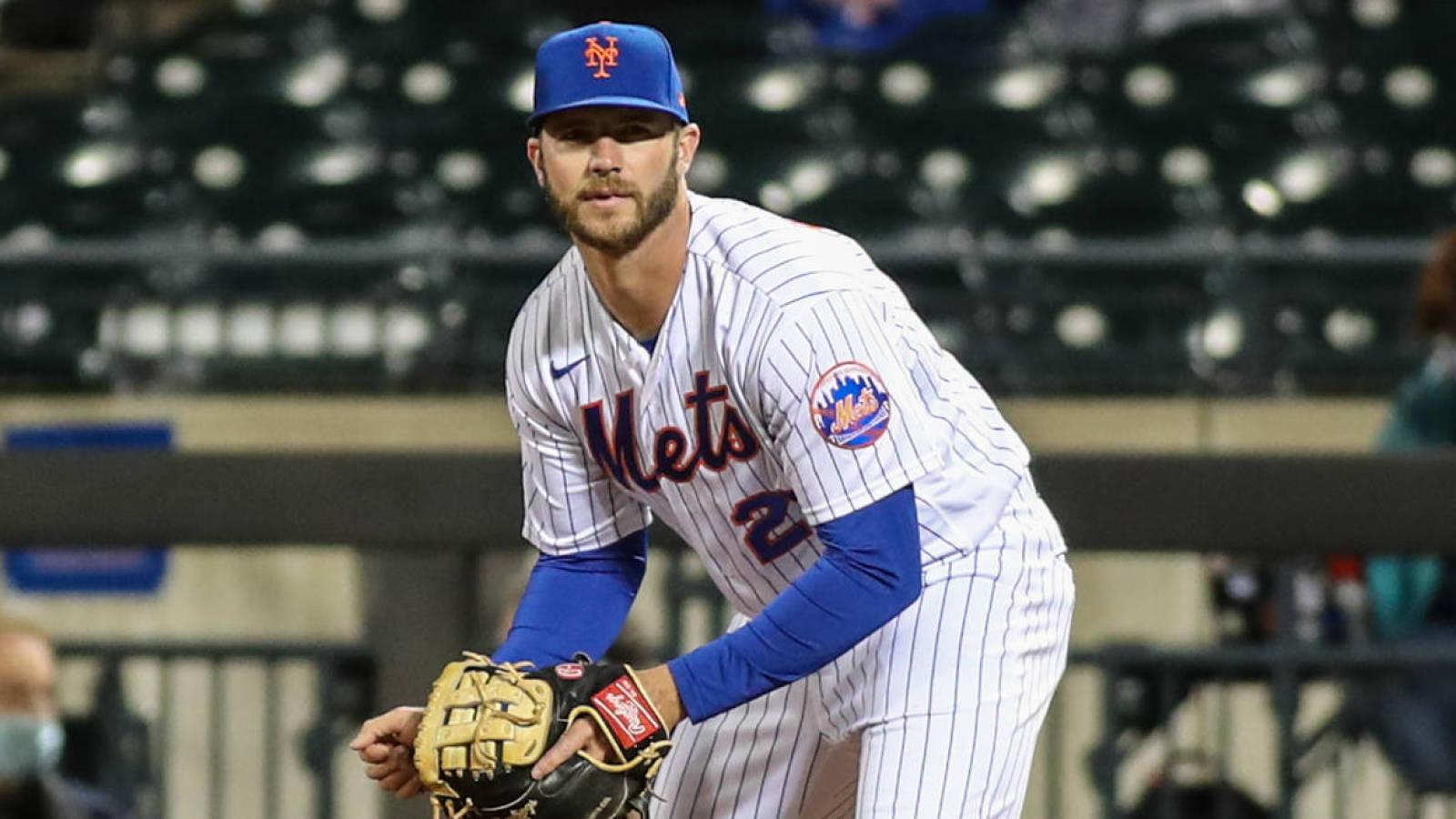 Pete Alonso: MLB 'manipulates' balls depending on free agency