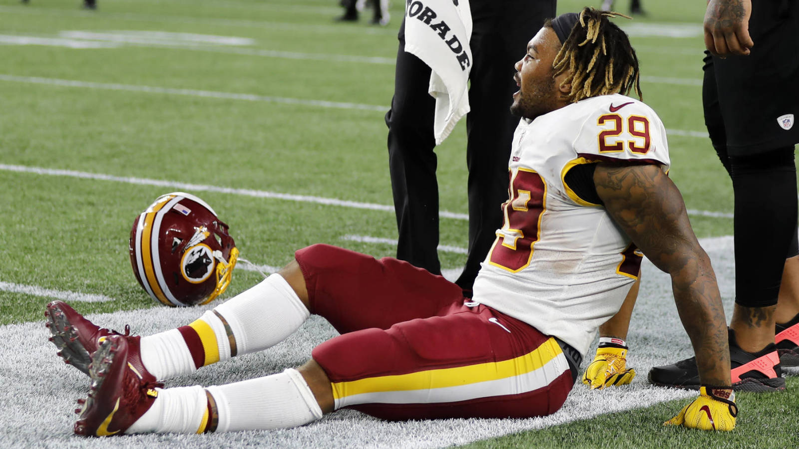 Washington continues to be down on its injury luck after Derrius Guice hype derailed