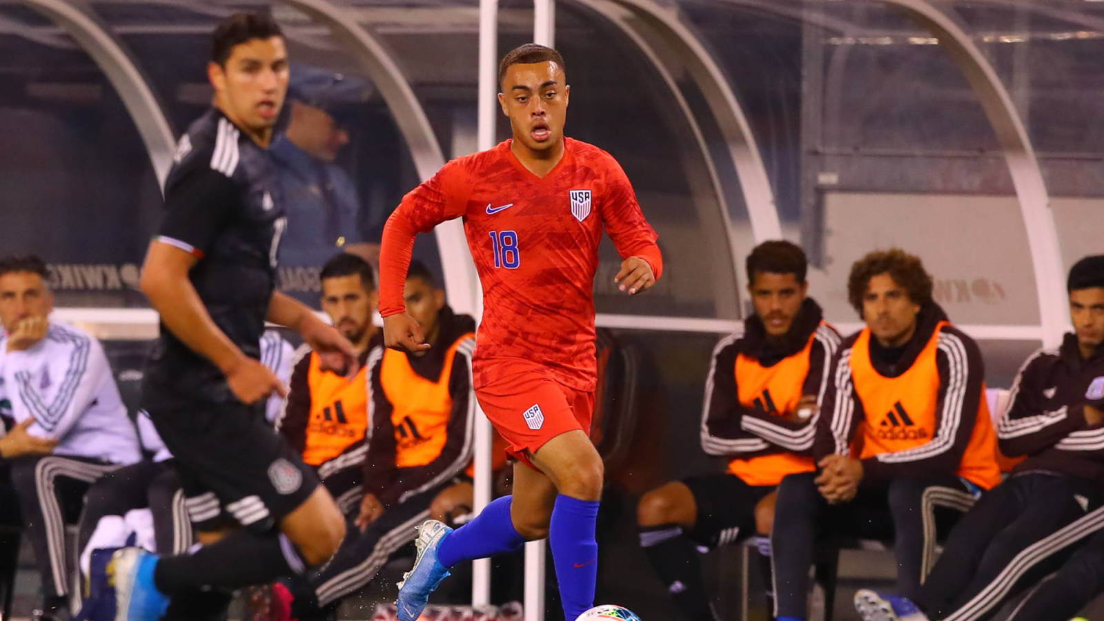 Sergino Dest becomes first USMNT player to score for Barcelona